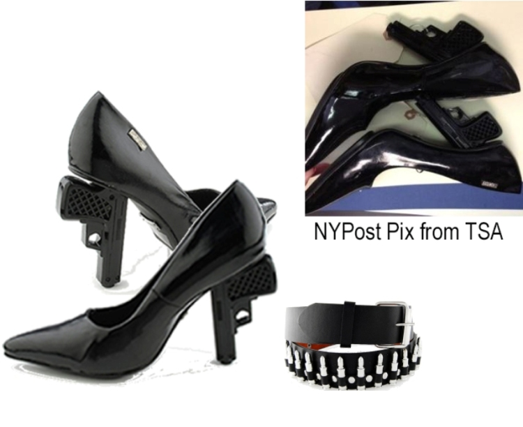 gun shoes bullet belt nypost pix